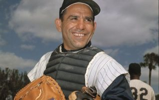 Yogi Berra (May 12, 1925 - September 22, 2015).... 3