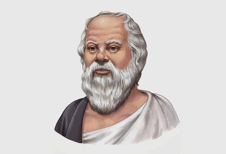 Μια μέρα κάποιος βρήκε το Σωκράτη και του είπε:... 1
