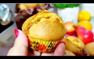εύκολα ΚΕΚΑΚΙΑ ΚΑΡΑΜΕΛΑΣ Muffins  Caramel μαλακά και αφράτα