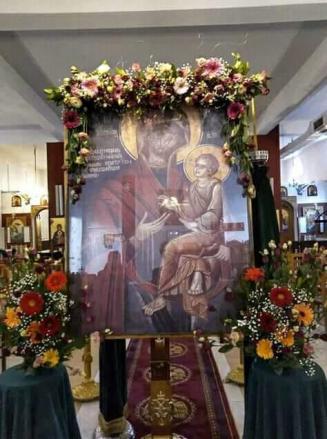 Βοήθειά μας ή χάρη τής Παναγία να σκεπάζει και να μεσητεύει για την σωτηρία όλων... 1