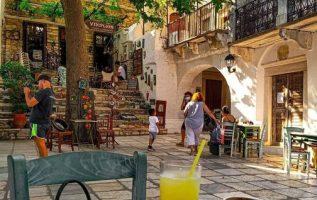 Καφεδάκι στην Απείρανθο στην Νάξο... 4