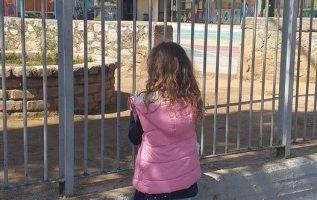 Σήμερα το πρωτάκι μου ήθελε να την πάω να δει το σχολείο της....Πολύ κλάμα βρε π... 5