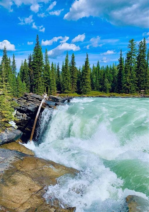 Athabasca Falls,Alberta Canada... 1