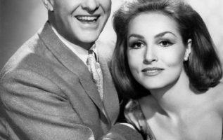 Bob Cummings (June 9, 1910 - December 2, 1990) and Julie Newmar in My Living Dol... 3