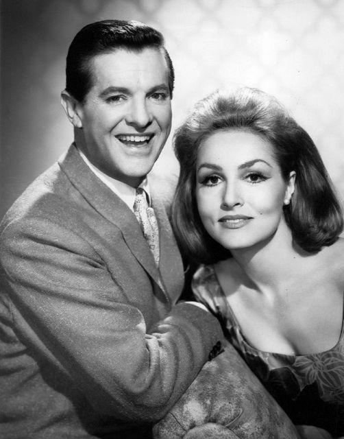 Bob Cummings (June 9, 1910 - December 2, 1990) and Julie Newmar in My Living Dol... 1