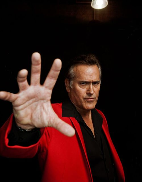 Bruce Campbell.... 1