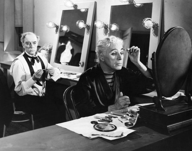 Buster Keaton and Charlie Chaplin in Limelight (1952).... 1