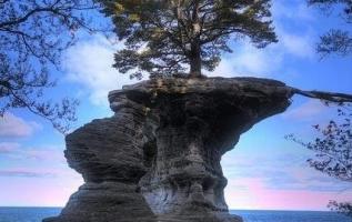 Chapel Rock, Michigan, USA.... 3
