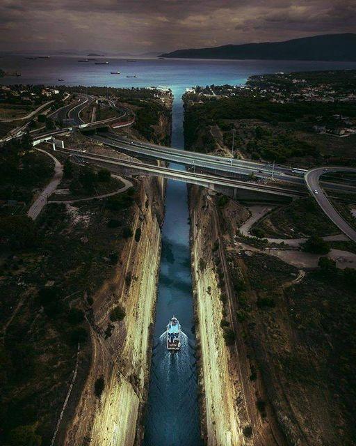 Corinth Canal #Greece!!.... 1