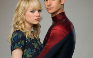 Emma Stone and Andrew Garfield. Gwen Stacy and Peter Parker.... 3