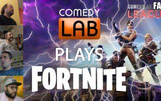 Fail League - ComedyLab plays Fortnite ft. Kostas Maliatsis
