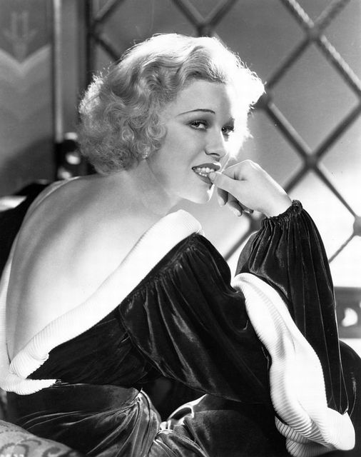 Glenda Farrell (June 30, 1904 - May 1, 1971) who was very popular in the pre-cod... 1