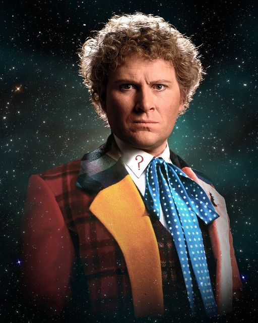 Happy Birthday to Colin Baker who turns 78 today! Pictured here as The Sixth Do... 1
