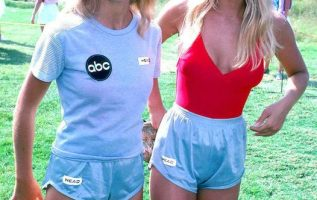 Heather Locklear and Heather Thomas on Battle of The Network Stars.... 2