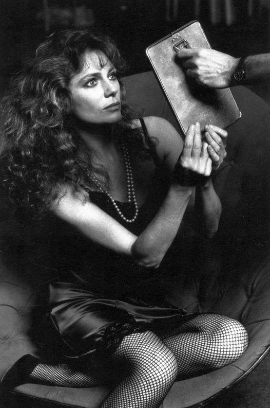 Jacqueline Bisset photographed by Helmut Newton.... 1
