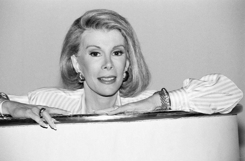 Joan Rivers (June 8, 1933 - September 4, 2014).... 1
