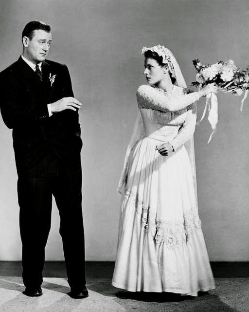 John Wayne and Maureen O'Hara. The Quiet Man (1952).... 1