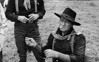 John Wayne and William Holden photographed by John R. Hamilton.... 3