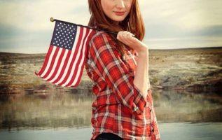 Karen Gillan. Happy Flag Day!... 2