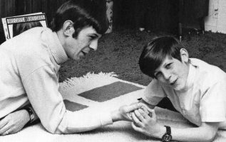 Leonard Nimoy with his son Adam.... 5
