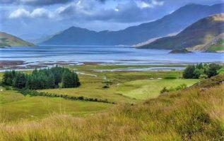Loch Hourn Scotland... 6