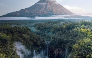 """Mount Semuru in East Java, Indonesia is considered to be the """"abode of gods."""" P... 3"""