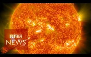 Nasa captures incredible 4k images of the Sun - BBC News - BBC News 3