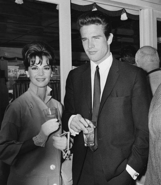Natalie Wood and Warren Beatty.... 1