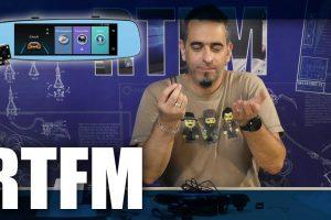 RTFM#30 - Έξυπνος καθρέφτης αυτοκινήτου με Android και διπλή κάμερα-JUNSUN A880 DVR Rearview Camera