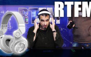 RTFM#39 - Ασύρματα ακουστικά Bluedio T2S
