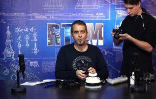RTFM#45 - Ένα ρομπότ που καθαρίζει τζαμαρίες (και τραπέζια)