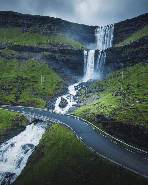 Ruta de las cascadas en Islandia.... 1