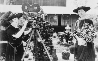 Silent film star May Allison (June 14, 1890 - March 27, 1989) and first lady Hel... 3