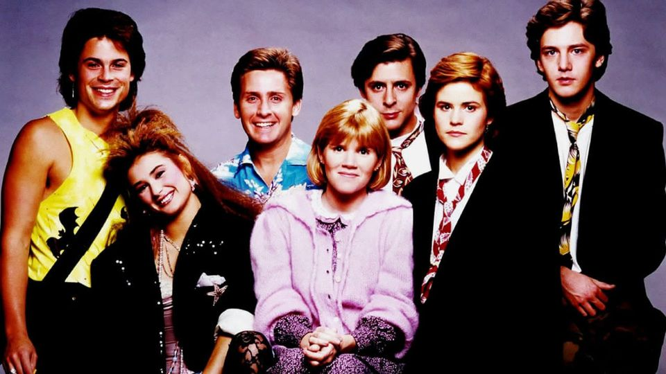 St. Elmo's Fire (1985). Ally Sheedy, Judd Nelson, Emilio Estevez, Demi Moore, Ma... 1