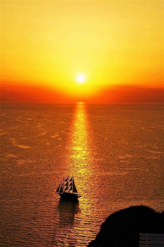 Sunset in Santorini Greece... 1