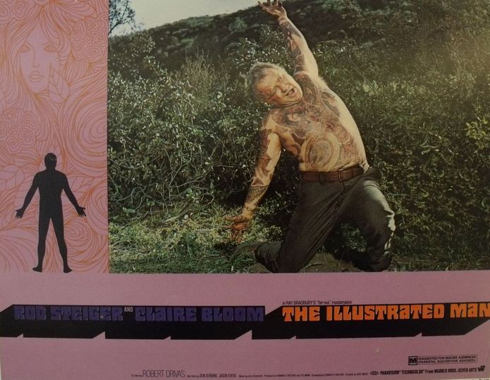 The Illustrated Man (1969) Movie Poster with Rod Steiger.... 1