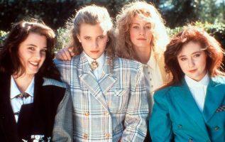 Winona Ryder, Kim Walker, Lisanne Falk, Shannen Doherty in Heathers (1988).... 4