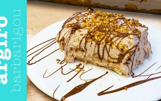 ΓΛΥΚΟ ΨΥΓΕΙΟΥ με πραλίνα και μπισκότα από τον @Γιάννος Βαλιάνος| Αργυρώ Μπαρμπαρίγου