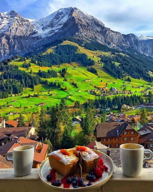 Κυριακάτικες Καλημέρες από την όμορφη Ελβετία... 1