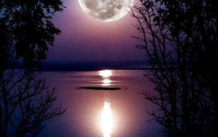 Μ ένα ασημένιο φεγγάρι και πολλές όμορφες ευχές...
