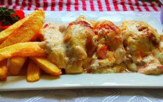 Νόστιμο εύκολο και γρήγορο φαγητό που άρεσει σε μικρούς και μεγάλους με μπουκιες Κοτόπουλο 🐔