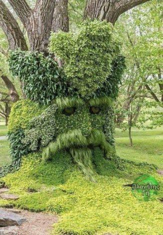 Το έργο ενός καλόγουστου κηπουρού...