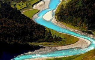 Φοβερό τοπίο Westland, Νέα Ζηλανδία....
