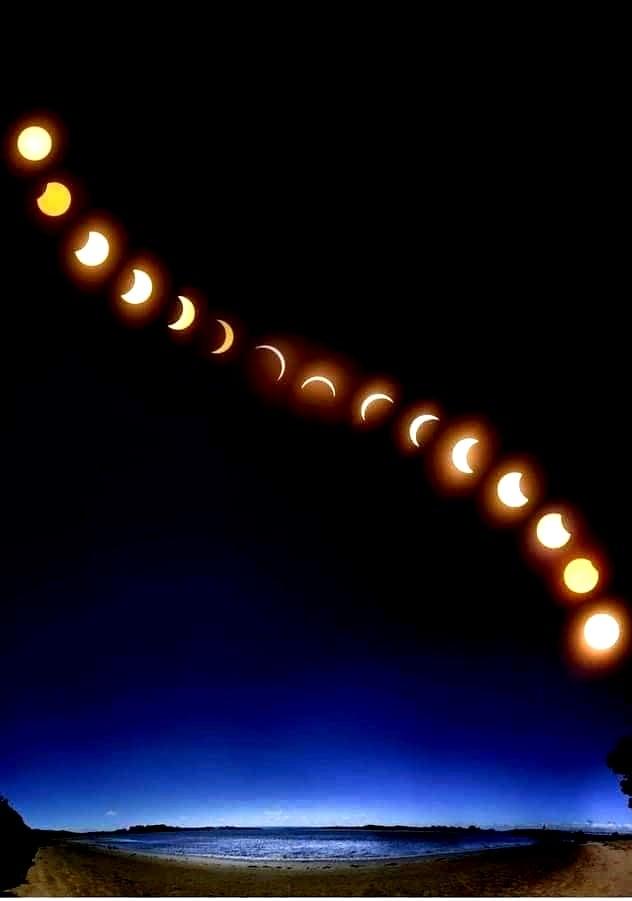 φωτογραφίες από την έκλειψη σελήνης... 1