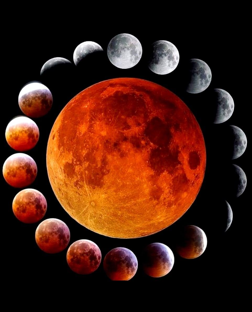 φωτογραφίες από την έκλειψη σελήνης... 2