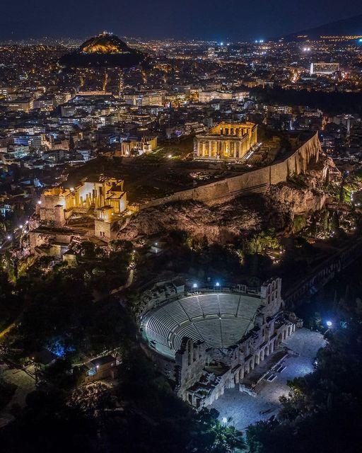 #Athens #Greece !!. Photo by @angelosdanalis... 1