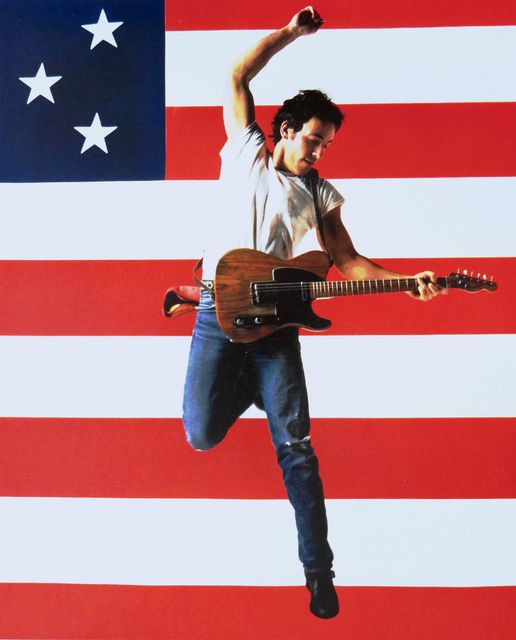 Bruce Springsteen photographed by Annie Leibovitz.... 1