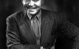 Clark Gable photographed by Yousuf Karsh....