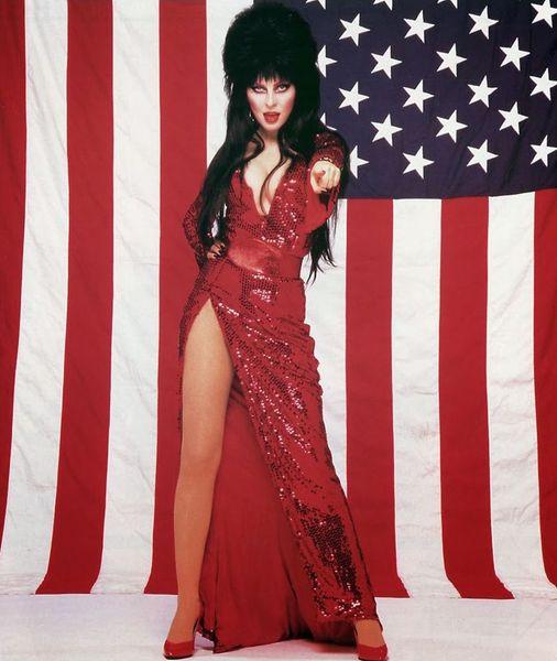 Elvira. Being Patriotic.... 1