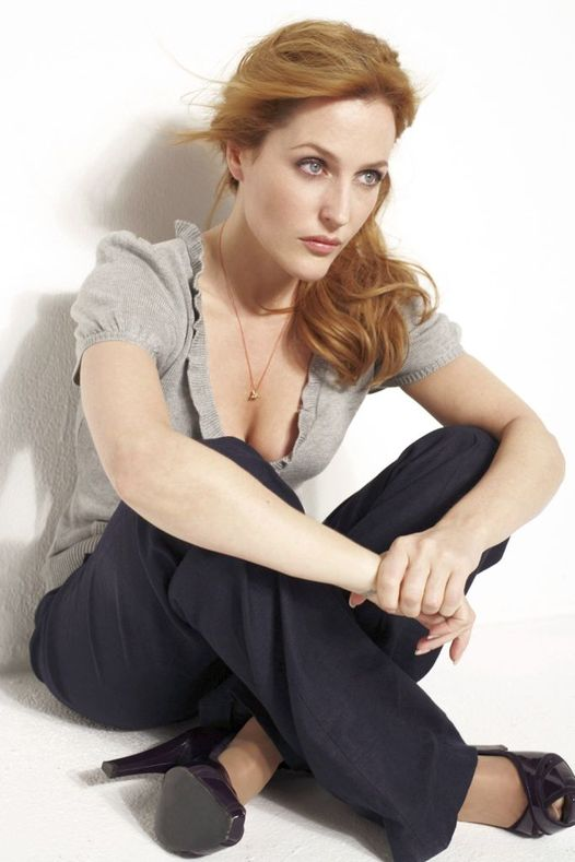 Gillian Anderson photographed by Mark Liddell.... 1